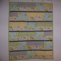 Happy Forest Animals Baby Quilt